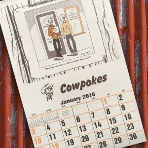 Cowpokes Calendar 2016