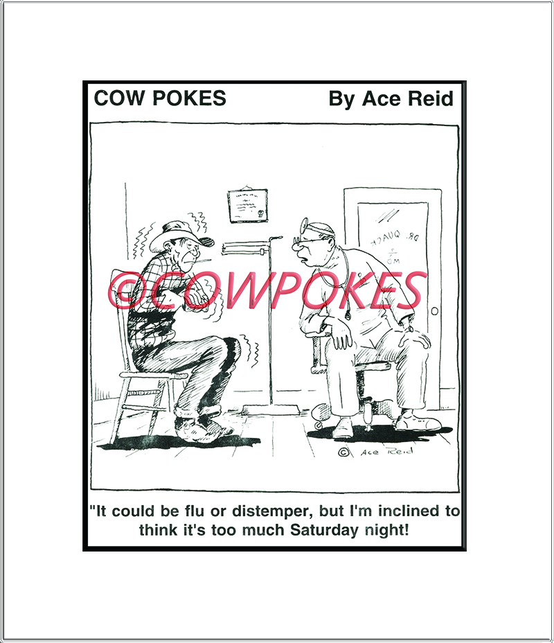 Cowpokes January 2016 Cartoon of the Month!